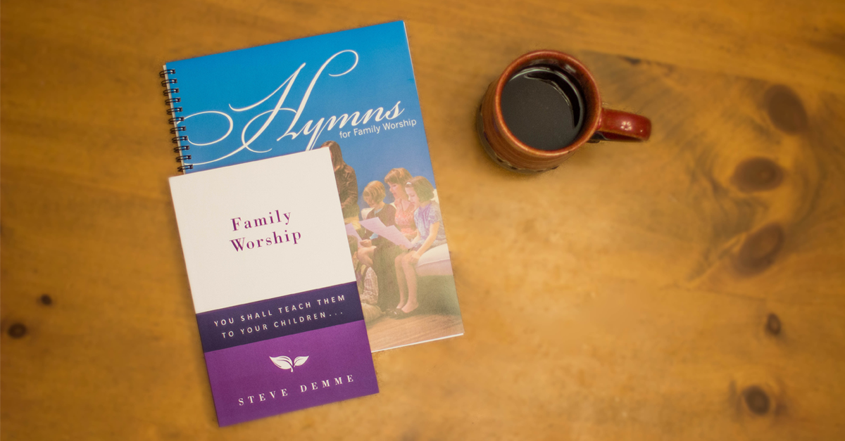 Learn more about Steve Demme's Family Worship & Hymns Book.